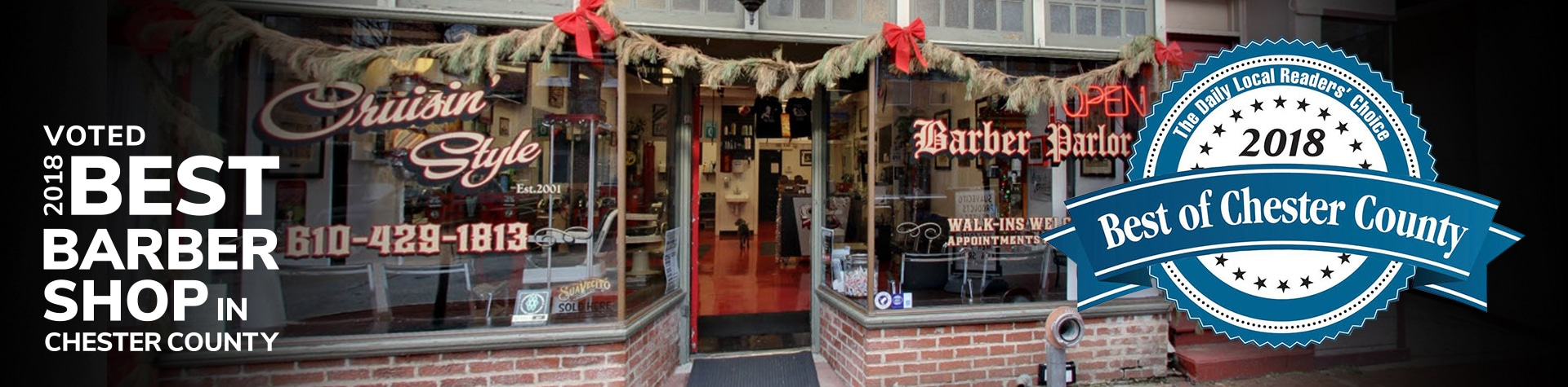 Cruisin Stytle Barber Shop Readers Choice Award